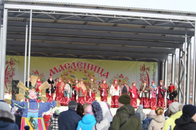 Масленица в городе Старица в 2017 году