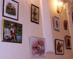Выставка вышитых картин